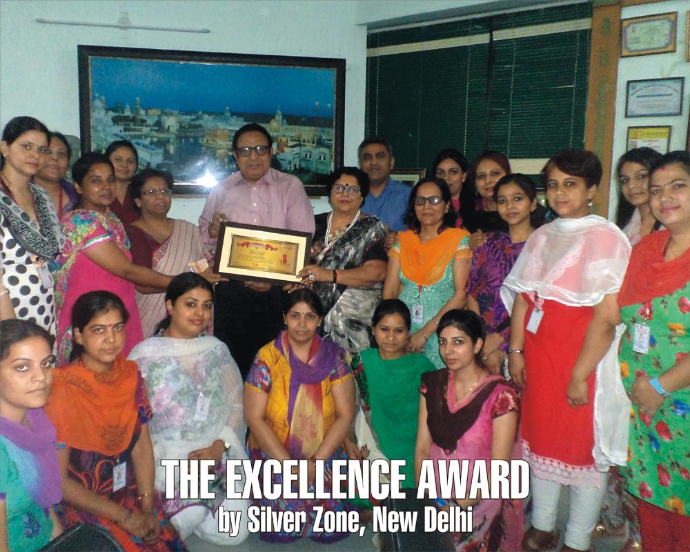 Silver Zone Award